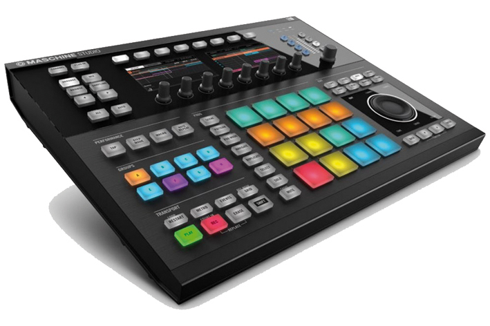 NATIVE INSTRUMENTS MASCHINE STUDIO NEGRA
