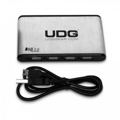UDG CREATOR ULTRA SLIM ALUMINIUM 7 PORT USB 2.0 HUB