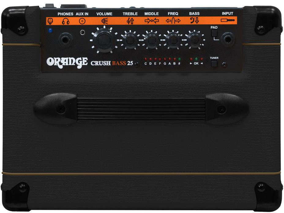ORANGE CRUSH BASS 25 BLACK
