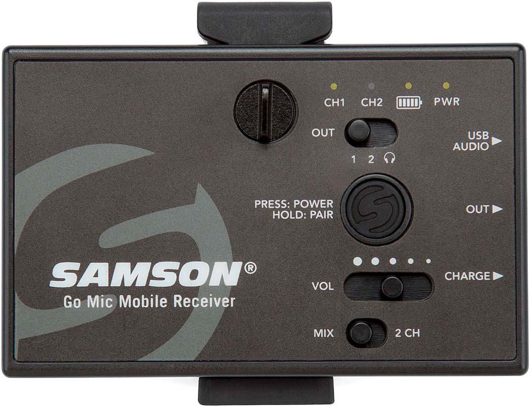 SAMSON GO MIC MOBILE RECEIVER ONLY