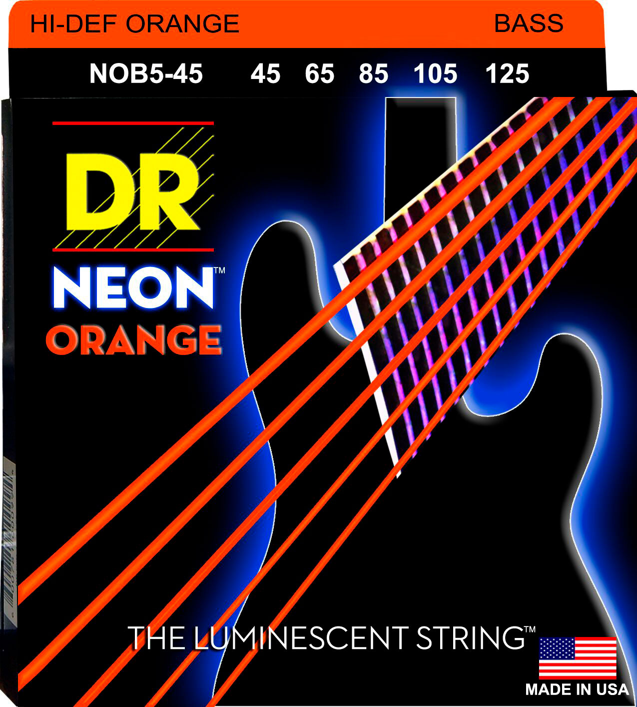DR NOB5-45 Neon Orange