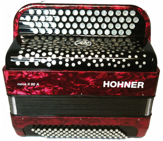 HOHNER NOVA II 80 RED