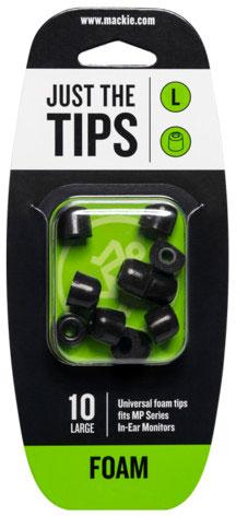 MACKIE MP Series Large Foam Black Tips Kit
