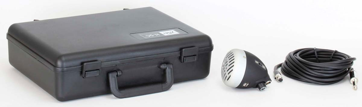 PEAVEY H-5™ Harmonica Mic, Black w/ ALM Grilll