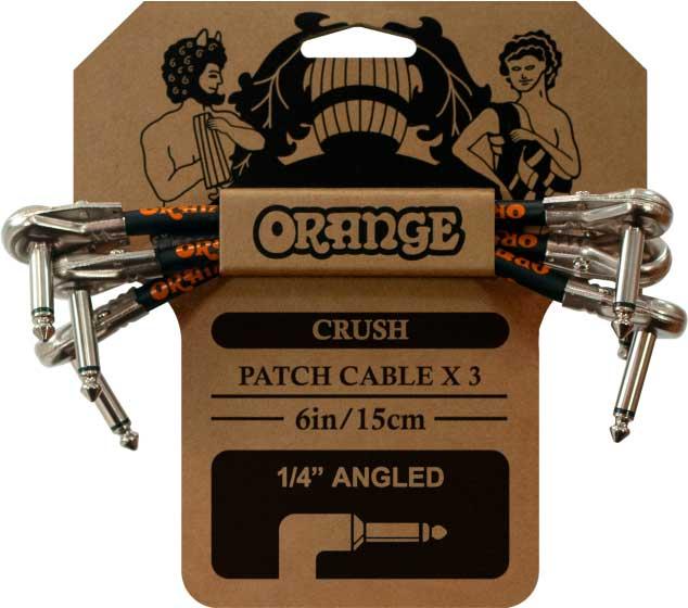 ORANGE 3 PACK CRUSH PATCH