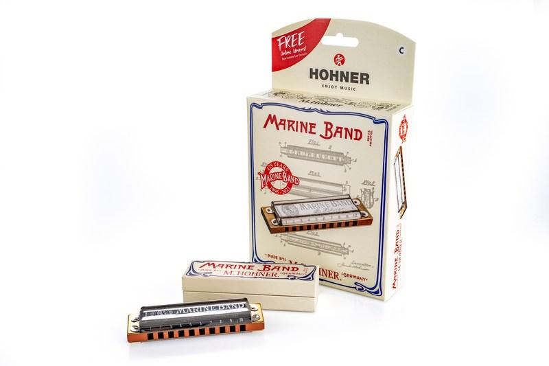 HOHNER MARINE BAND 125TH ANNIVERSARY C BOX